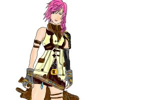 How To Draw Lightning Farron!