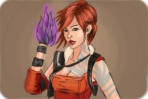 How to draw Lilith from Borderlands 2
