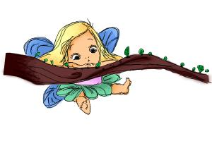 How to Draw Litlle Fairy :)