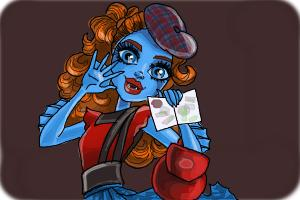 How to draw Lorna McNessie from Monster High