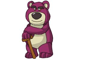 How to draw Lotso, Disney Villain
