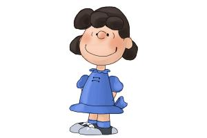 How to Draw Lucy Van Pelt from The Peanuts Movie