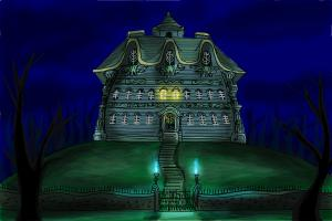 How to draw Luigi's Mansion