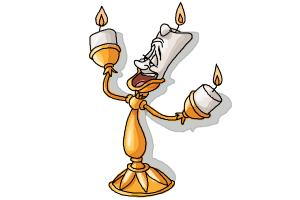 How to Draw Lumiere from Beauty And The Beast