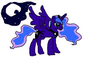 How to draw Luna from My Little Pony
