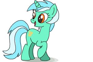 How to Draw Lyra Heartstrings from My Little Pony Friendship Is Magic