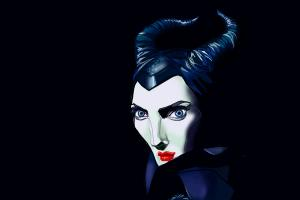 How to draw Maleficent, Angelina Jolie