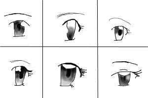 How To Draw Manga Eyes Pt1