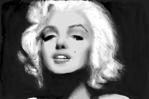 How to draw Marilyn Monroe