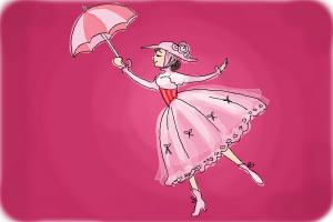 How to Draw Mary Poppins