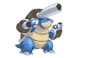 How to Draw Mega Blastoise from Pokemon X & Y