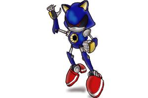 How To Draw Metal Sonic