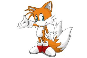 How to Draw Miles Prower, Tails from Sonic