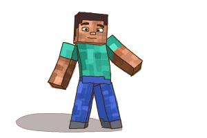 How to Draw Minecraft Characters