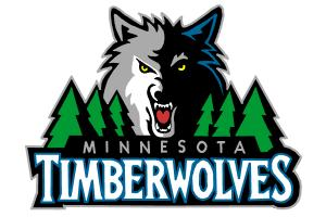 How to Draw Minnesota Timberwolves Logo
