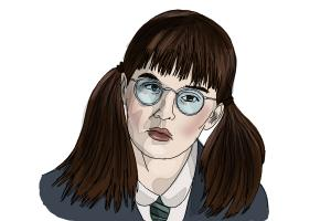 How to Draw Moaning Myrtle from Harry Potter And The Chamber Of Secrets