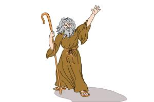 How to Draw Moses