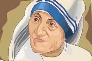 How to Draw Mother Teresa