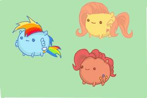 How to Draw My Little Pony Characters, Kawaii