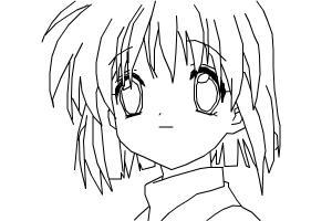 how to draw nagisa furukawa