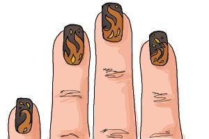How to Draw Nail Art