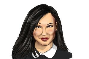 How to draw Naya Rivera