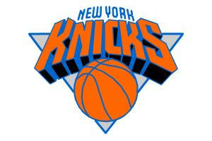 How to draw New York Knicks logo