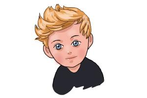 How to Draw Niall Horan Cartoon