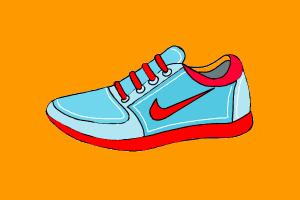 How to Draw Nike Shoes