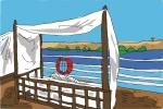How to draw Nile River Cruise