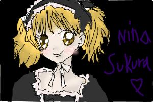 how to draw nina sukura