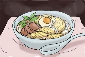 How To Draw Noodles Drawingnow