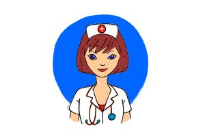 How To Draw A Nurse Drawingnow