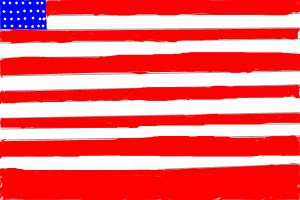 How to draw Oh Glory (American Flag)