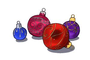 How to draw ornaments