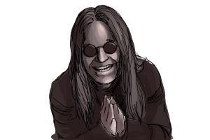 How to Draw Ozzy, Ozzy Osbourne