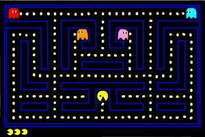 How to draw Pacman level