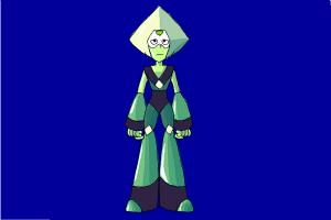 How to Draw Peridot from Steven Universe