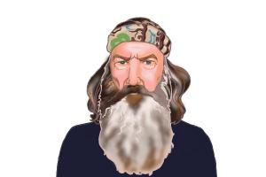 How to Draw Phil Robertson from Duck Dynasty
