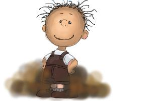 How to Draw Pig Pen from The Peanuts Movie