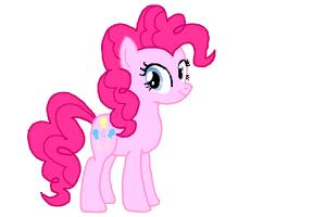 How to draw Pinkie Pie (from My Little Ponny)