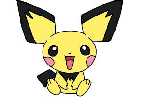 How to Draw Pokemon - Pichu