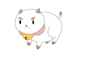 How to Draw Puppycat from Bee And Puppycat