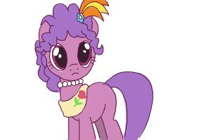 How to Draw Purple Wave from My Little Pony Friendship Is Magic
