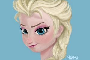 How to Draw Queen Elsa from Frozen