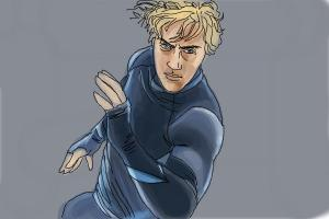 How to Draw Quicksilver from Avengers: Age Of Ultron