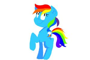 How to Draw Rainbow Dash Update