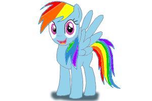 How to Draw Rainbowdash