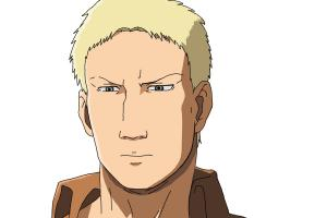 How to Draw Reiner Braun from Shingeki No Kyojin