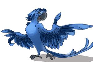 How to draw Roberto from Rio 2